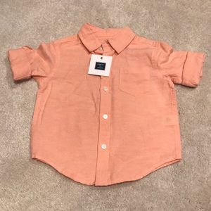 Janie and Jack linen button down